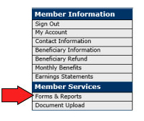 Request A Duplicate 1099 R Tax Form Teachers Retirement System Of
