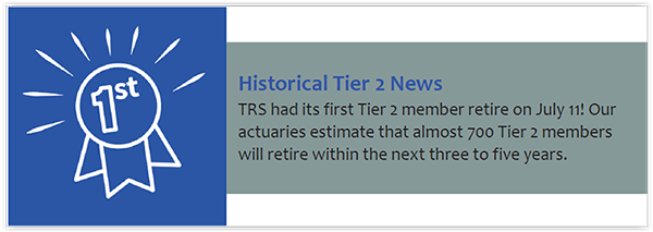 Tier 2 retiree